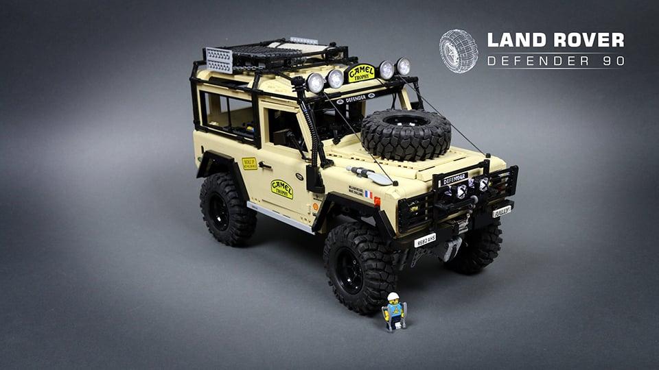 lego rc land rover defender 90 the awesomer. Black Bedroom Furniture Sets. Home Design Ideas