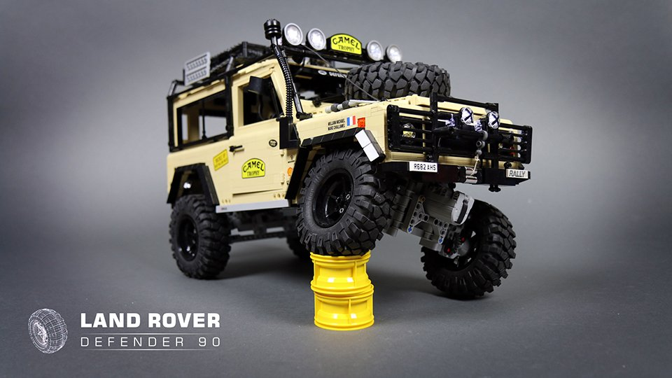 LEGO RC Land Rover Defender 90