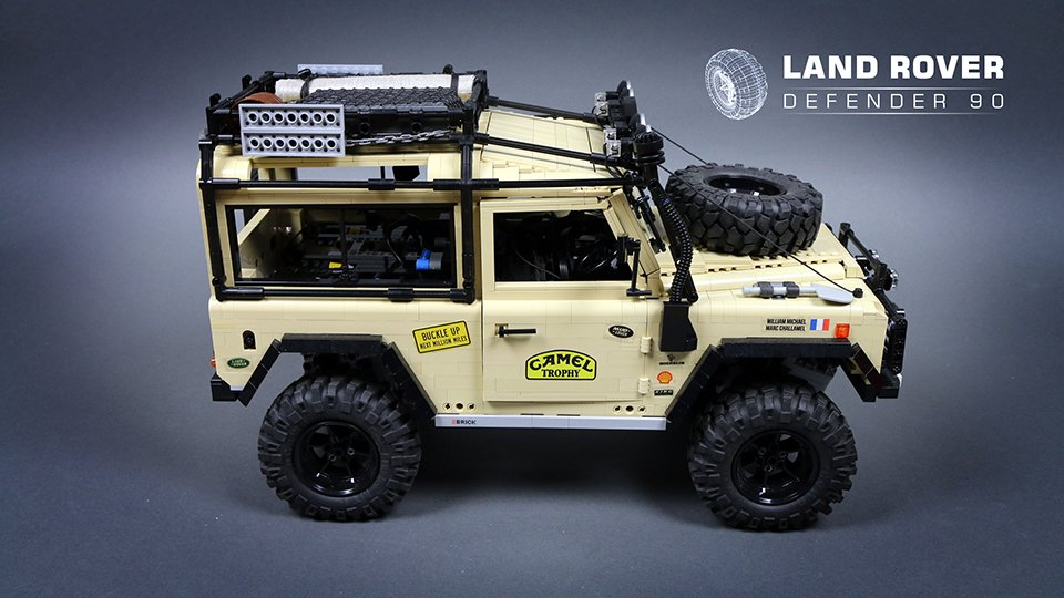 LEGO RC Land Rover Defender 90 - The Awesomer