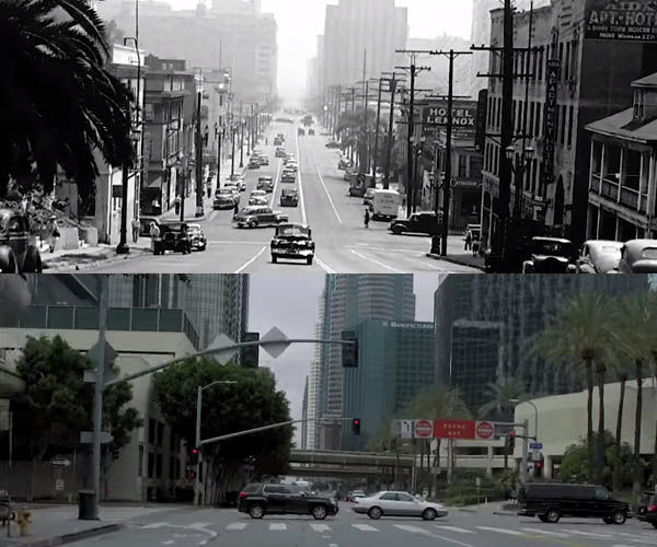 L.A.: 1940s Vs 2016