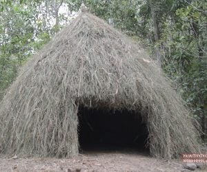 Making a Grass Hut