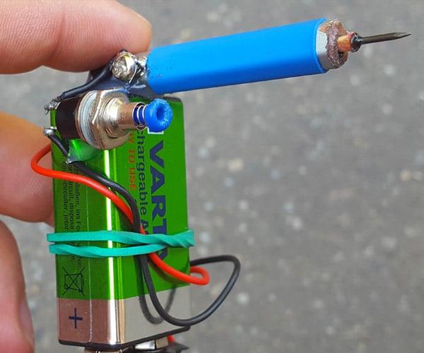 DIY Matchstick Gun