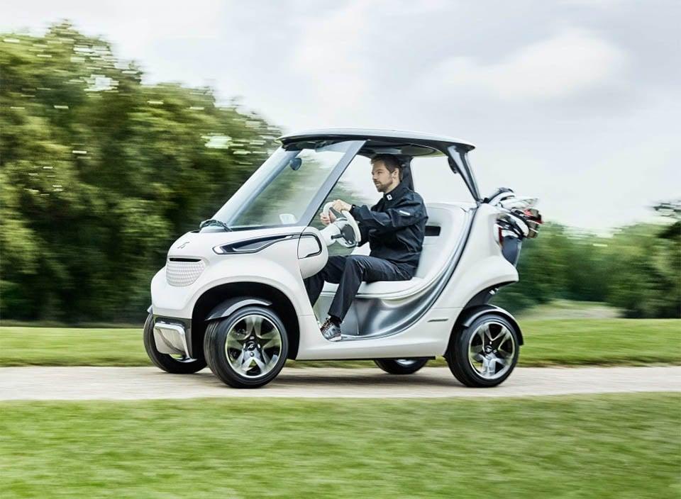 Mercedes-Benz Garia Golf Cart