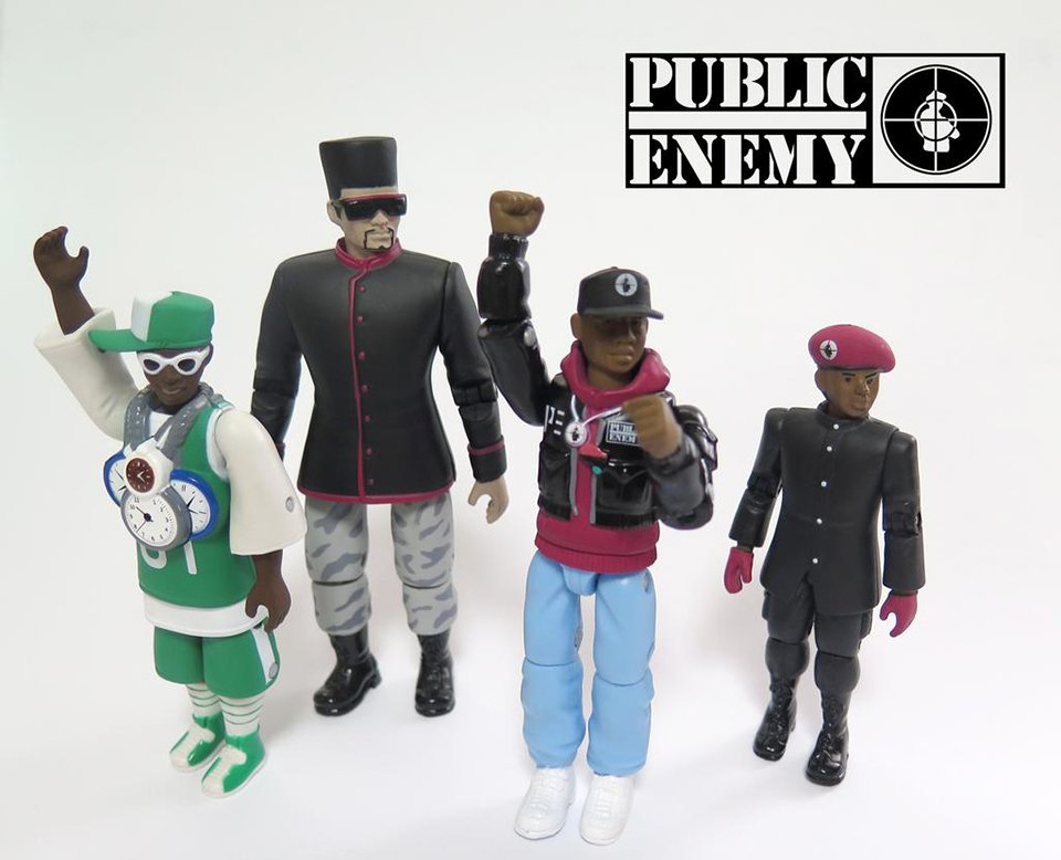 Public Enemy Action Figure Set