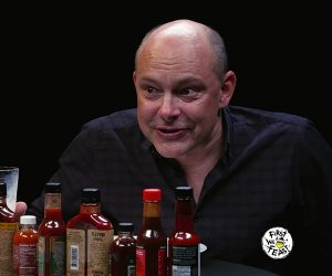 Rob Corddry vs. Hot Wings