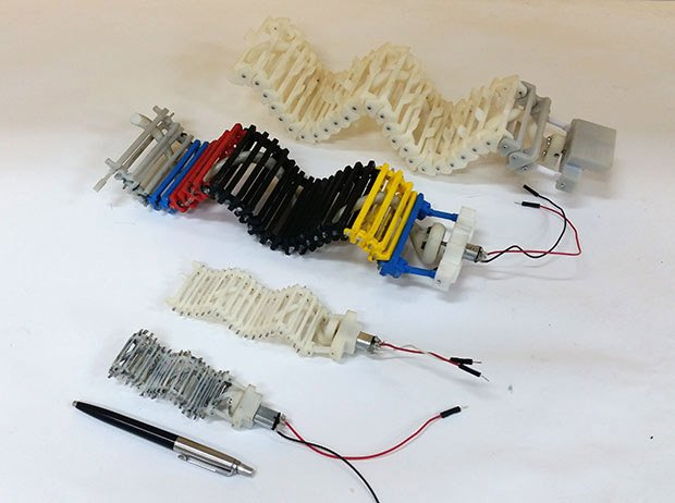 SAW Robotic Worm