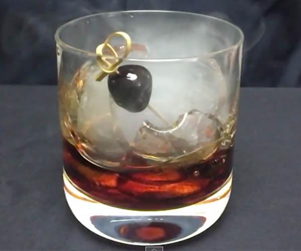 Making a Smoke Bomb Cocktail