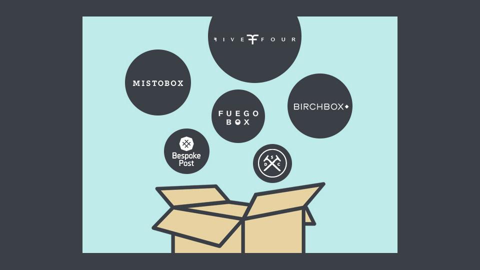 Men's Mega Subscription Box Giveaway