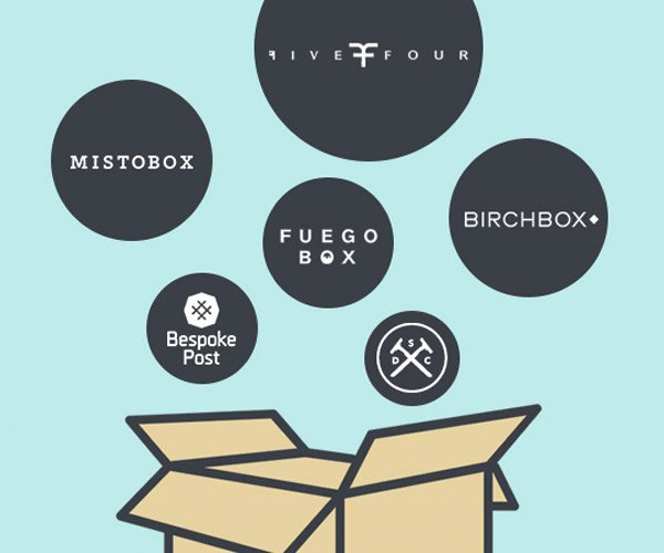 Men's Mega Subscription Box Giveaway