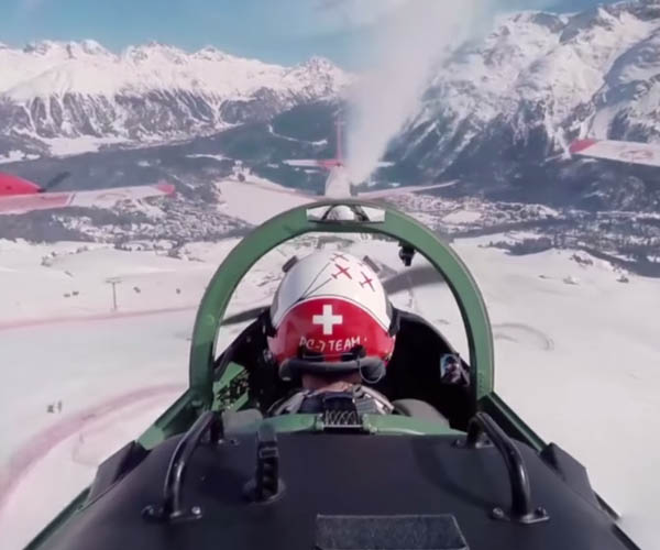 swiss air force formation in 360. Black Bedroom Furniture Sets. Home Design Ideas