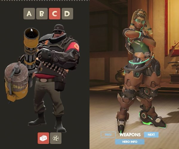 TF 2 vs. Overwatch: Social Spaces