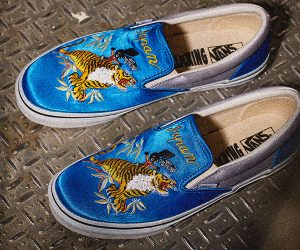 Vans x Rollicking Satin Classic Slip-On