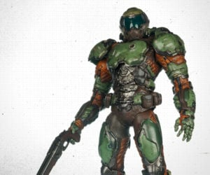 3A DOOM Marine Action Figure
