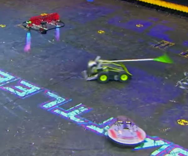 BattleBots: Hypershock vs. Warrior Clan