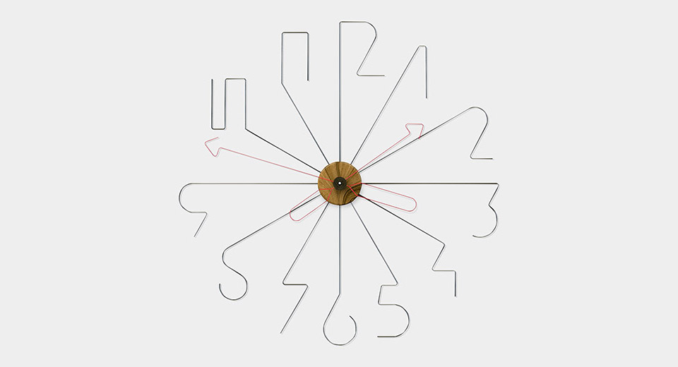 Bent Wire Clock