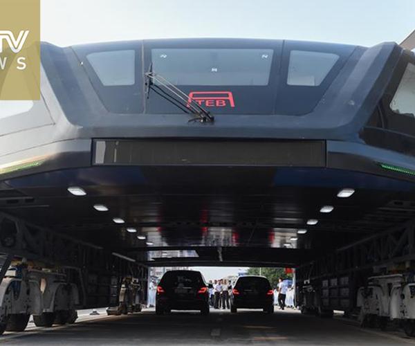 China's Elevated Tram