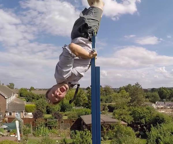 Colin Furze's 360º Swing
