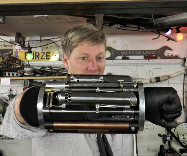Colin Furze's Weaponized Gauntlet