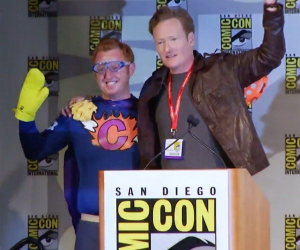 Conan Crashes Comic-Con