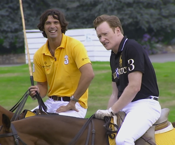Conan Plays Polo
