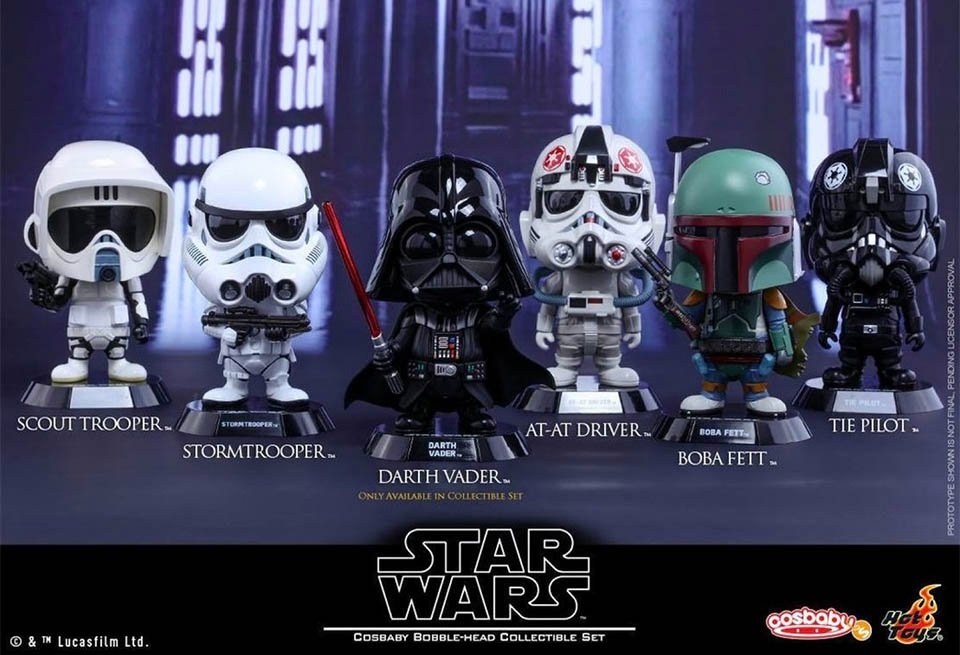 Star Wars Cosbaby Bobbleheads