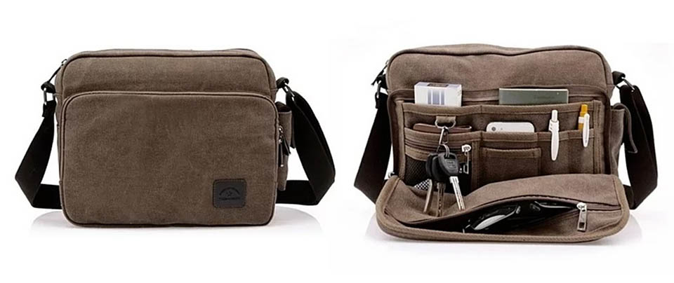 Deal: Crossbody Travel Bag