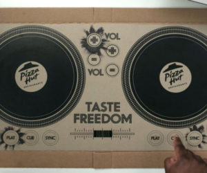 DJ Pizza Box