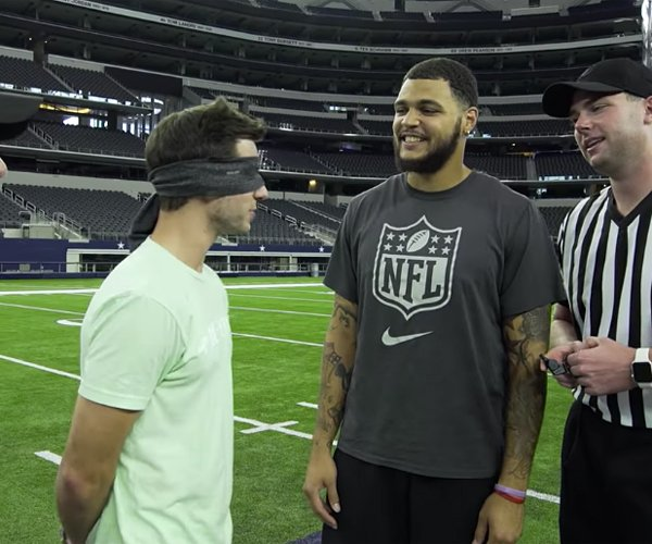 Dude Perfect vs. NFL Players
