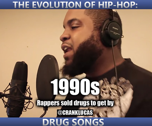 Evolution of Drug Rap