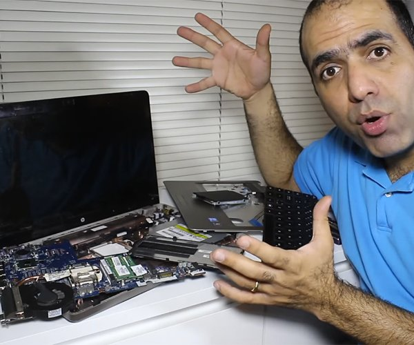 Fixing a Laptop's Cooling Fan