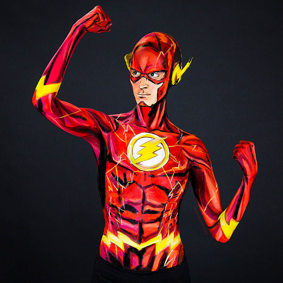 Flash Body Painting