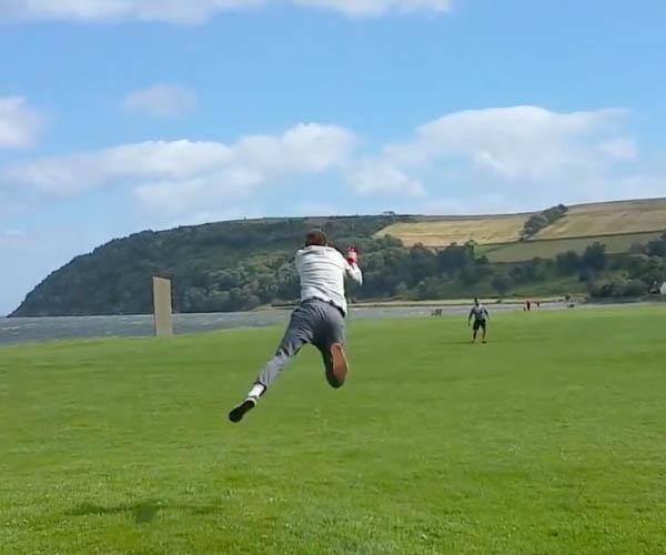 Kite Flies Man
