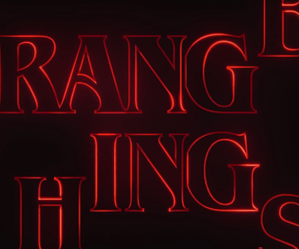 Making Stranger Things' Title Sequence