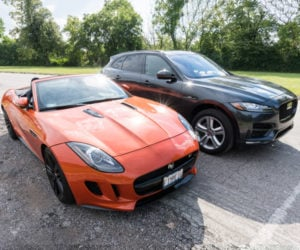 When F-TYPE Met F-PACE