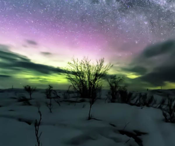 Alaskan Skies 360º Time-Lapses