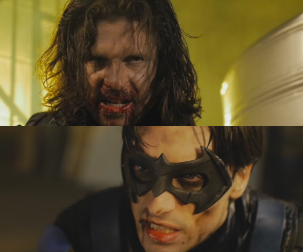 Nightwing vs. Winter Soldier