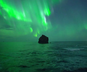 Northern Lights by Drone