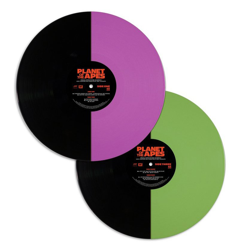 Planet of the Apes OST 2XLP