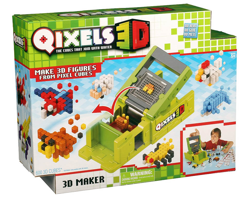 Qixels 3D Toy Printer