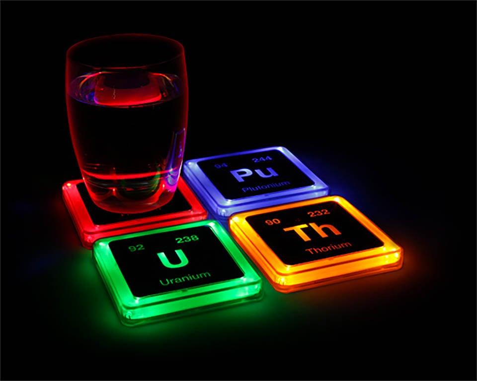 Radioactive Elements Coasters