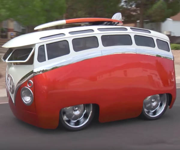 Ron Berry Custom Vw Bus T