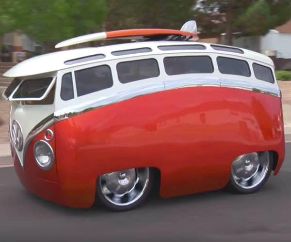 Cartoon VW Bus