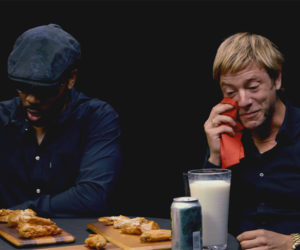 RZA & Paul Banks vs. Hot Wings