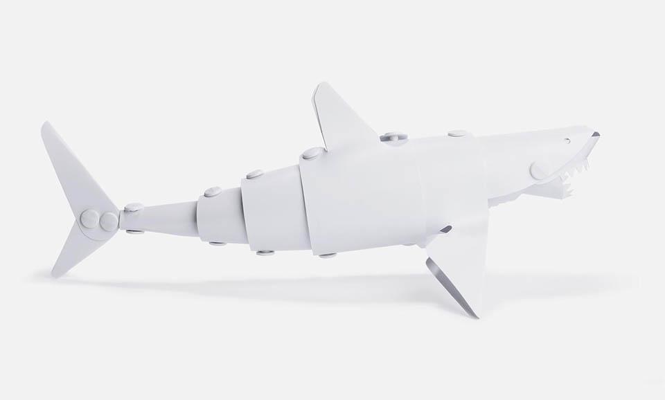 Shark & Diver Models