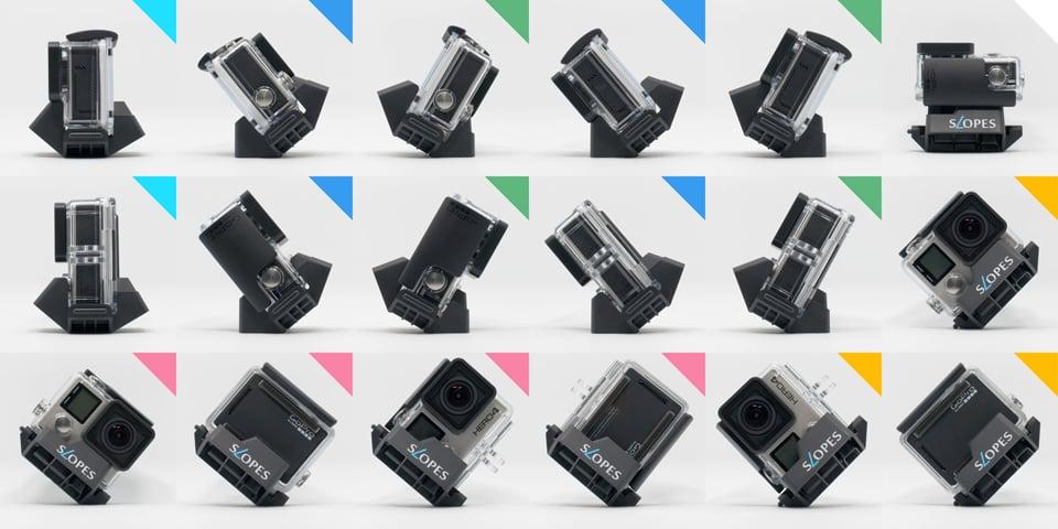 Slopes GoPro Stand Black Edition