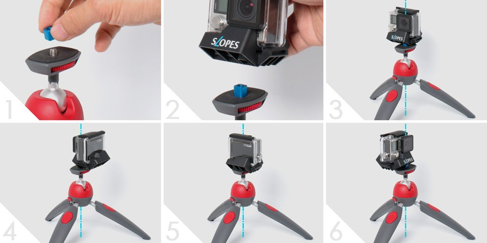 Slopes GoPro Stand Black Edition