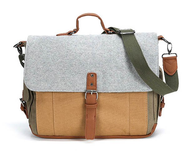 Deal: Tri-Color Messenger Bag