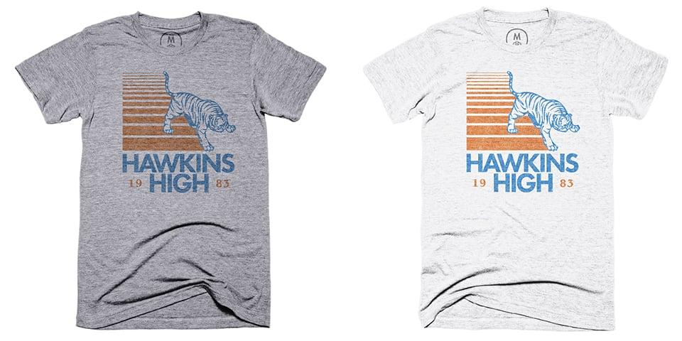 Hawkins High Tee & Sweater