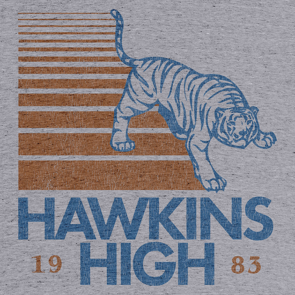 Hawkins High Tee & Sweater
