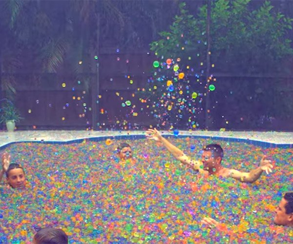 A pool full of orbeez - Get a swimming pool full of liquor ...